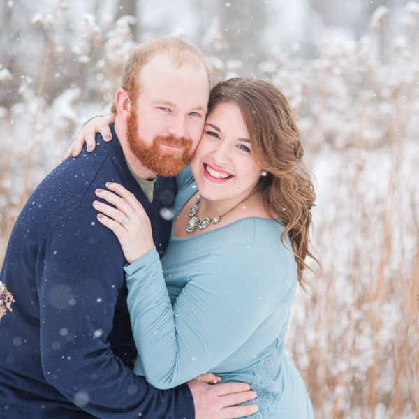 Shelby & Wade // Winter Engagement Session